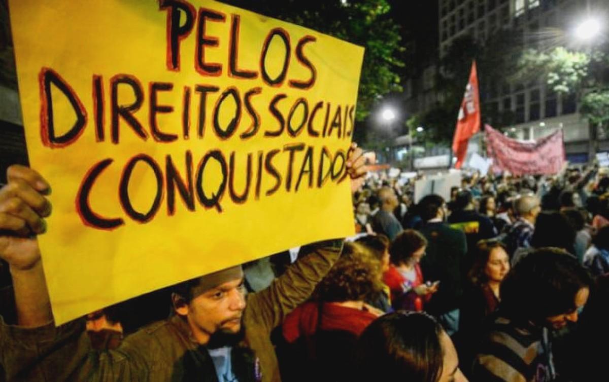 Pelos direitos sociais conquistados