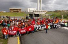 Petroleiros na luta