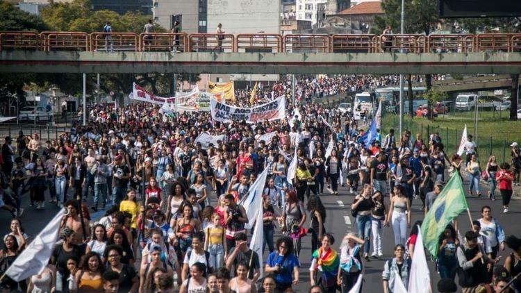 Estudantes nas ruas (3)