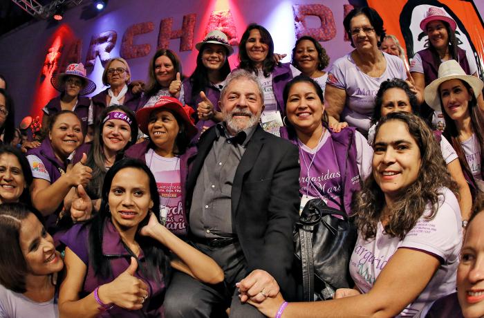 Lula com Margaridas