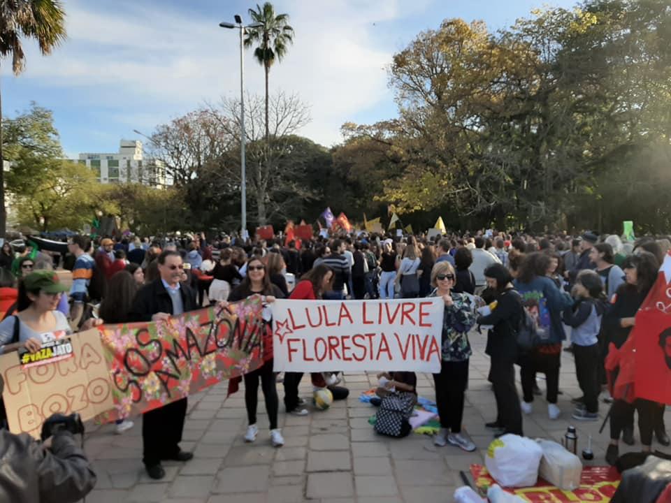 Lula livre na Redenção