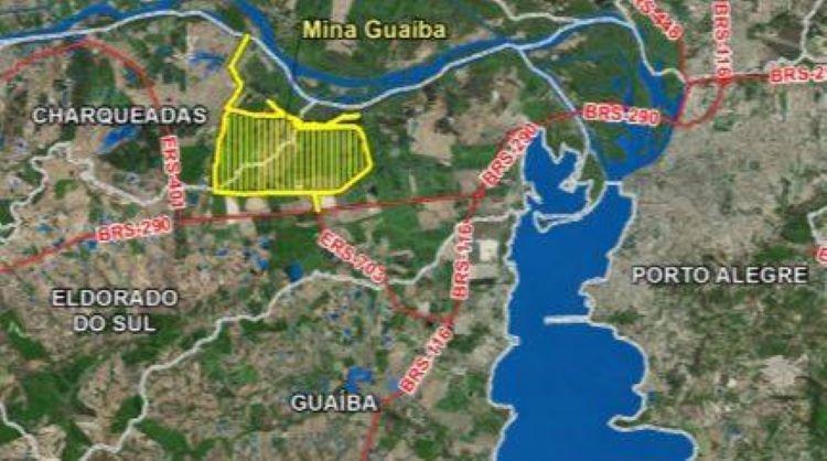 Mina Guaíba mapa (2)