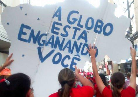 Globo engana