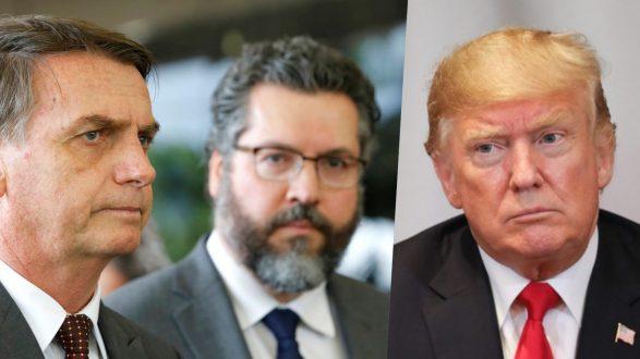 Bozo, Araújo e Trump
