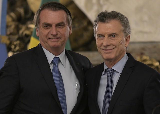 ARGENTINA-BRAZIL-MACRI-BOLSONARO