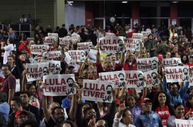 Lula livre na CUT