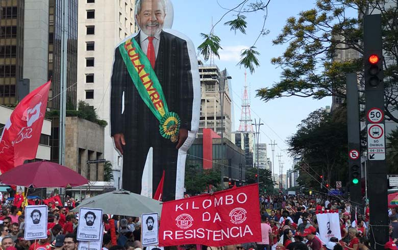 Lula livre na Paulista