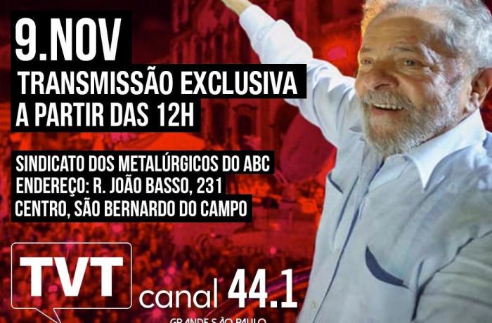 Lula na TVT