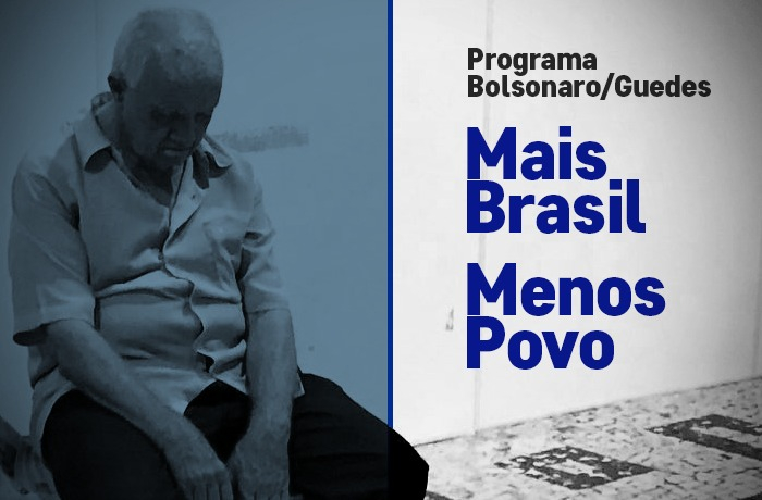 Mais Brasil, menos povo