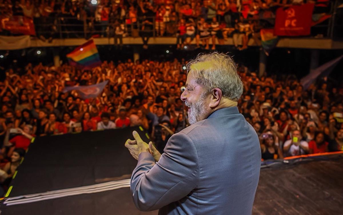 Lula no Arpoador