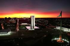 Brasília por do sol