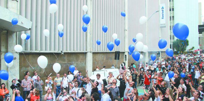 Banrisul e balões