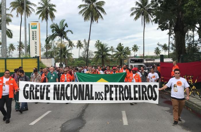 Grena nacional dos petroleiros