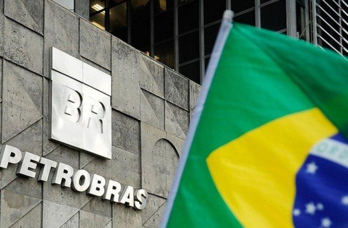 Petrobras com bandeira
