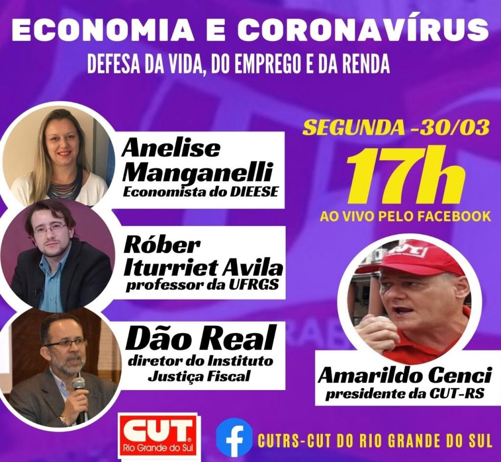 Card - economia e coronavírus
