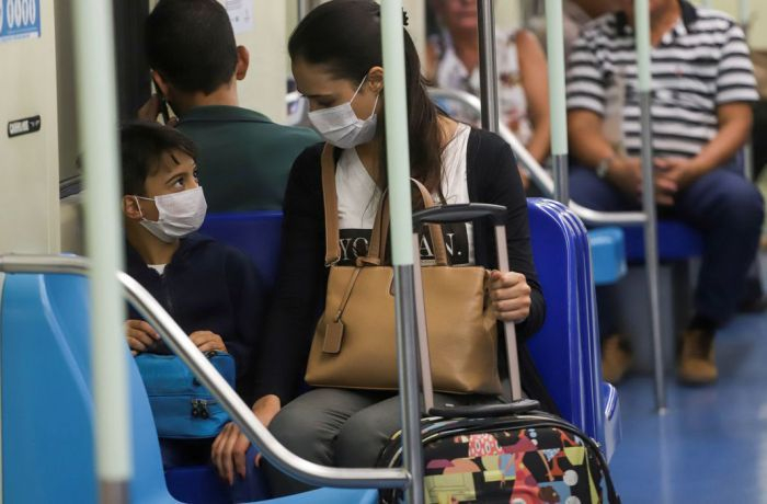 Infectados no metrô