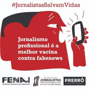 Jornalistas salvam vidas