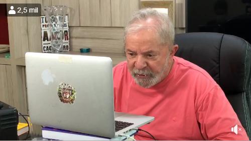 Lula na live
