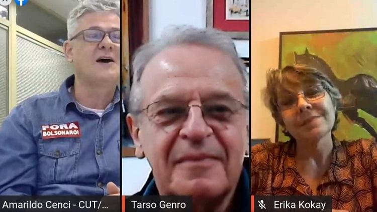 Amarildo, Tarso e Erika