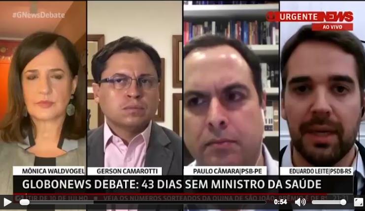 Leite na Globonews