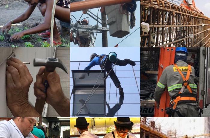Trabalhadores ferrados