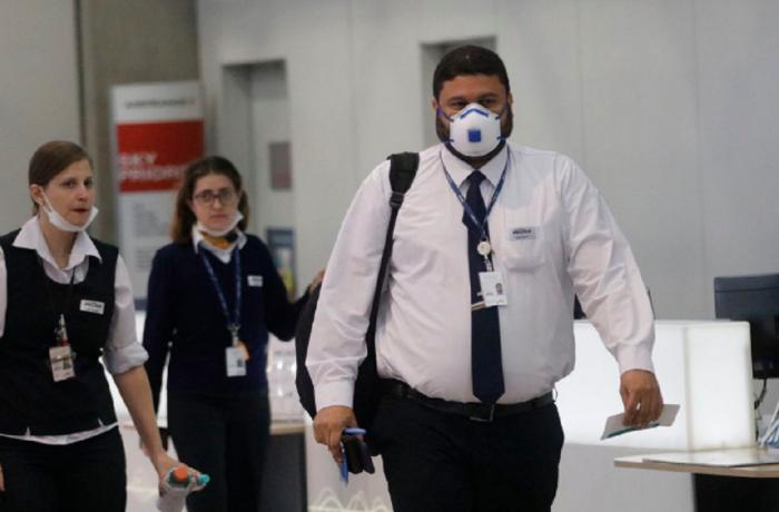 Trabalhadores de máscaras