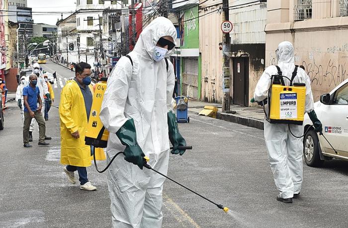 Limpeza sanitária