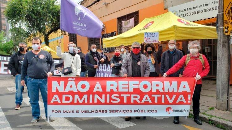 Reforma administrativa não (2)