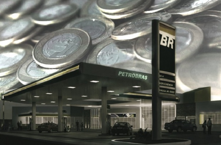 Petrobras recua