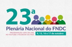 Plenária do FNDC