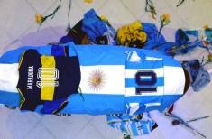 Caixão do Maradona