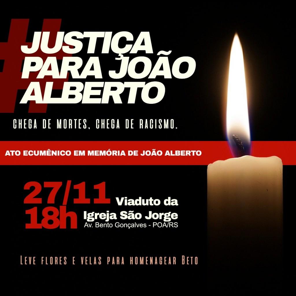Justiça para João alberto