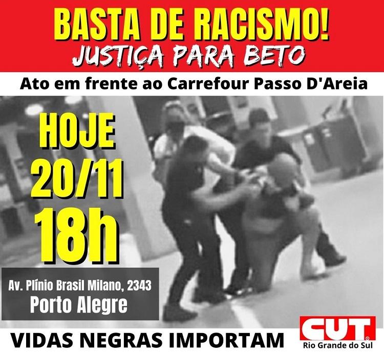 Basta de racismo