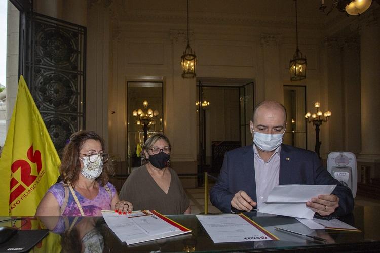 CPERS no Palácio