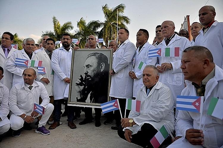 CUBA-ITALY-HEALTH-VIRUS