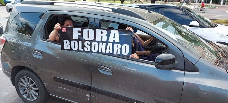 Fora Bozo carreata