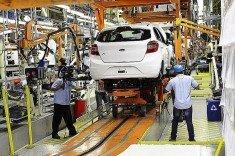 Ford produzindo