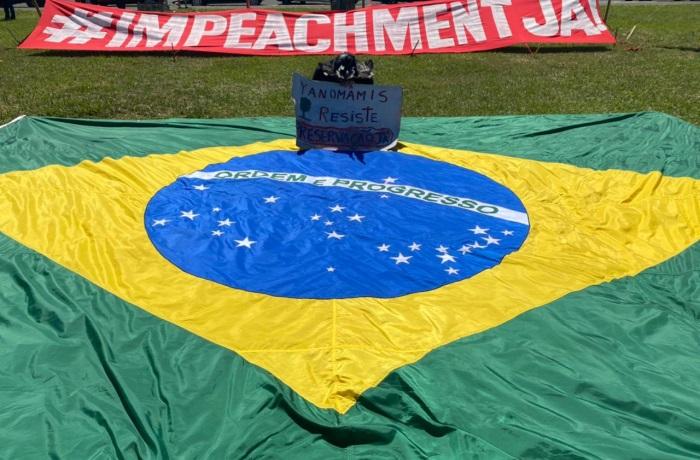 Impeachment e bandeira