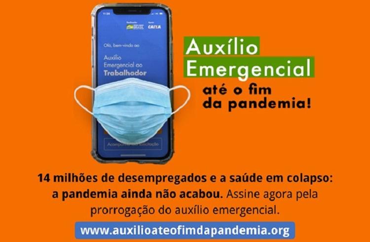 Auxílio e pandemia