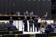 Líderes na Câmara