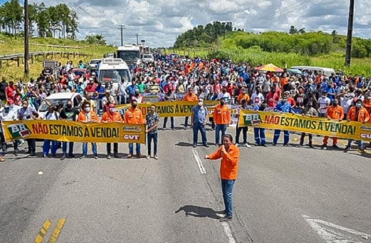 Bahia protesta