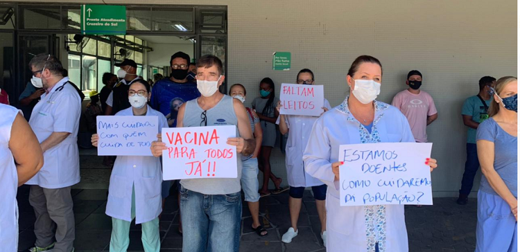 Cruzeiro protesta