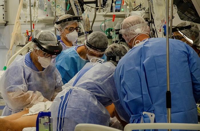 Enfermeiros em ação