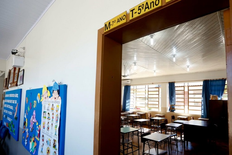 Escola vazia