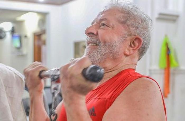 Lula na ginástica