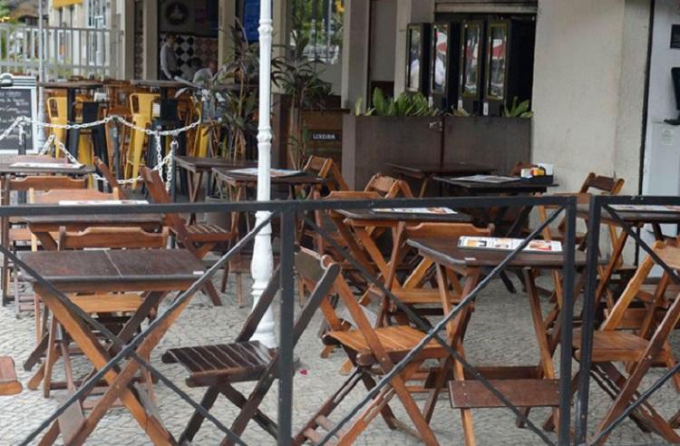 Bar fechado