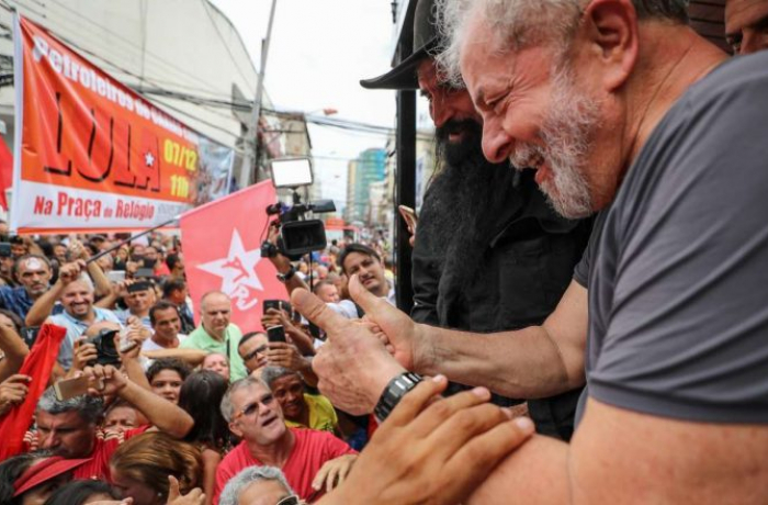 Lula no palanque