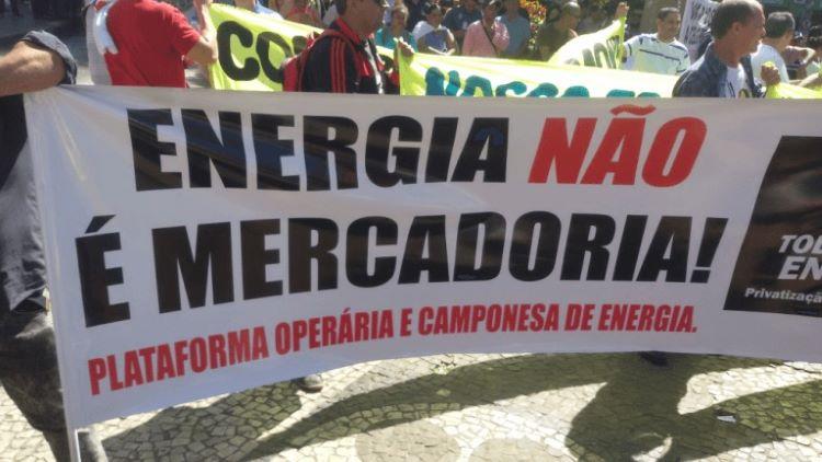 Energia não é mercadoria