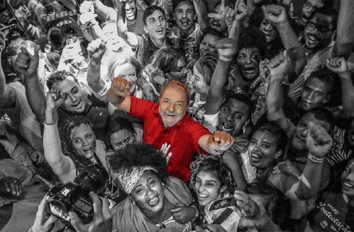 Lula no povão