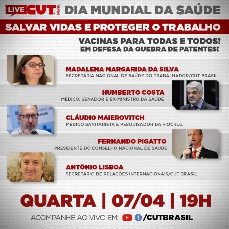 Live da CUT Brasil